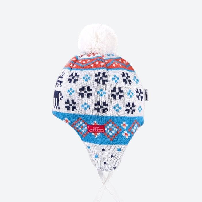 Dětská pletená čepice s membránou GORE® WINDSTOPPER®  41d202f3fc